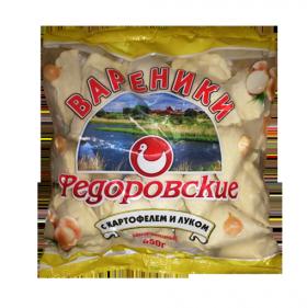"Вареники ""С картофелем и луком"""